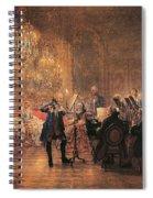 The Flute Concert Spiral Notebook