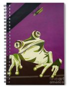 The Fly Catcher Spiral Notebook