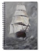 The Flying Dutchman Spiral Notebook