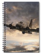 The Flying Fortress Spiral Notebook