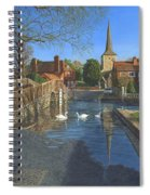 The Ford At Eynsford Kent Spiral Notebook
