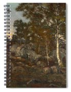 The Forest Of Fontainebleau Spiral Notebook