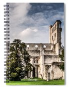 The Forgotten Abbey 2 Spiral Notebook