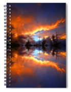 The Forgotten Sunset Spiral Notebook