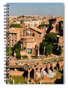 The Forum From The Palatine Spiral Notebook