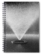 The Fountain Spiral Notebook