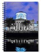 The Four Courts 5 - Dublin Ireland Spiral Notebook