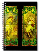 The Four Maidens... Spiral Notebook