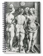 The Four Witches Spiral Notebook