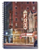 The Fox After The Show Spiral Notebook