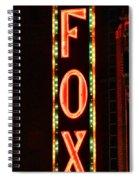 The Fox Spiral Notebook