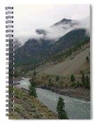 The Fraser River Spiral Notebook