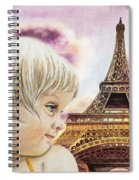The French Girl Spiral Notebook