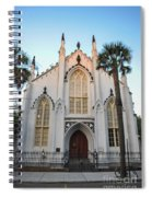 Charleston French Huguenot Church Spiral Notebook