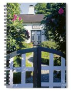 The Front Garden Spiral Notebook