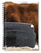 The Garbage Man Spiral Notebook