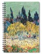 The Garden At Arles, Detail Spiral Notebook