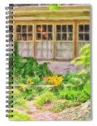 The Garden At Juniata Crossings Spiral Notebook
