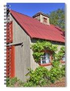 The Garden Barn Spiral Notebook