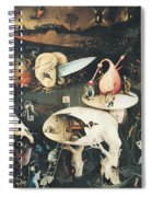 The Garden Of Earthly Delights Hell, Right Wing Of Triptych, C.1500 Oil On Panel See 322, 3425 Spiral Notebook