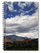 The Garden Of The Gods Spiral Notebook