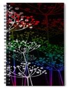 The Garden Of Your Mind Rainbow 3 Spiral Notebook