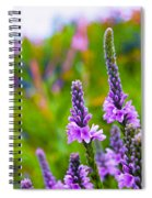 The Garden Palette Spiral Notebook