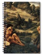 The Garden Pan Spiral Notebook