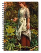 The Gardeners Daughter Spiral Notebook