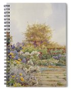 The Gardens At Chequers Court Spiral Notebook