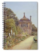 The Gardens At Montacute In Somerset Spiral Notebook