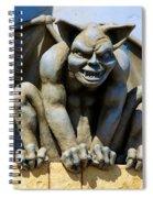 The Gargoyle  Spiral Notebook