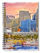 The Garish City Cincinnati Spiral Notebook