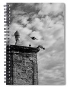 The Gate At Castillo Spiral Notebook