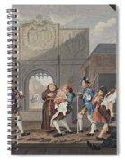 The Gate Of Calais, Or O The Roast Beef Spiral Notebook