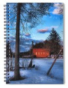 The Gatehouse Spiral Notebook