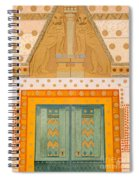 The Gateway Of Troy Spiral Notebook