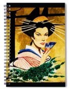 The Geisha Spiral Notebook