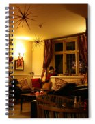 The George Inn Middle Wallop Spiral Notebook