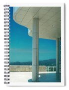 The Getty Triptych Spiral Notebook