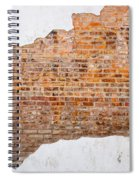 The Ghost Behind The Wall Spiral Notebook