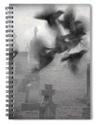 The Ghost Birds Spiral Notebook