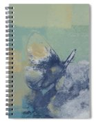 The Giant Butterfly And The Moon - J216094206-c09a Spiral Notebook