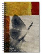The Giant Butterfly And The Moon - S09-22cbrt Spiral Notebook