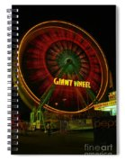 The Giant Wheel Spinning  Spiral Notebook