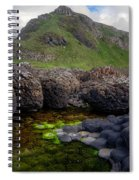 The Giant's Causeway - Peak And Pool Spiral Notebook