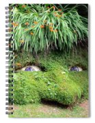 The Giant's Head Heligan Cornwall Spiral Notebook