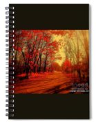The Ginger Path Spiral Notebook