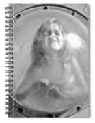 The Girl In The Bubble Spiral Notebook