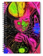 The Girl In The Glass Egg Spiral Notebook